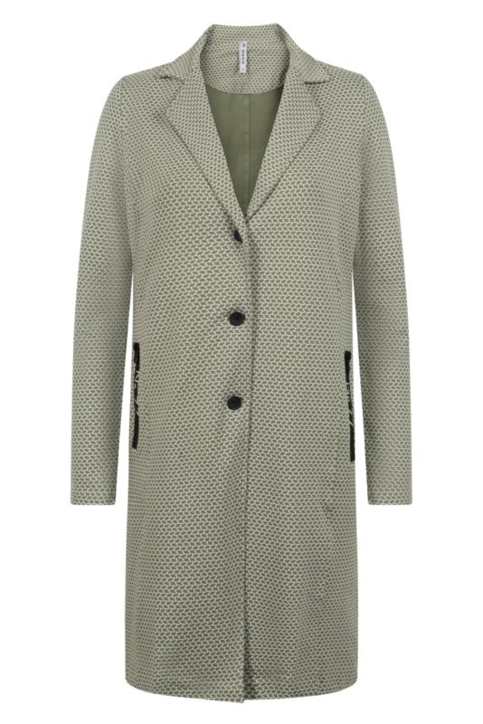 Zoso blazer Madeline green/white