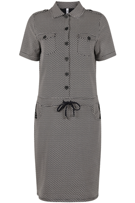Zoso jurk Maud navy/white