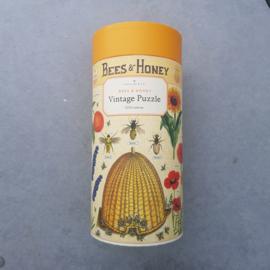 Vintage Puzzel - Bees & Honey