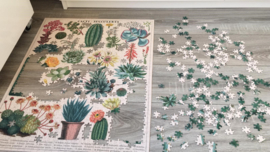 Vintage Puzzle - Cacti & Succulents