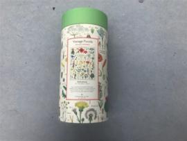 Vintage Puzzel - Wildflowers
