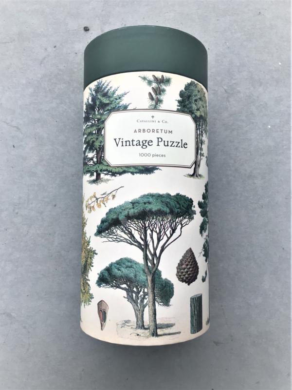 Vintage Puzzel - Arboretum