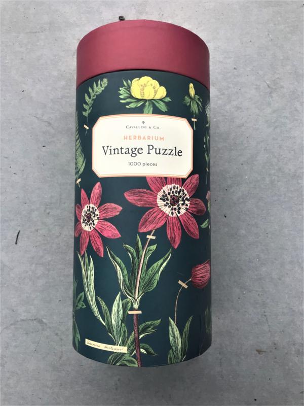 Vintage Puzzel - Herbarium