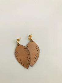 Oorbel leaf