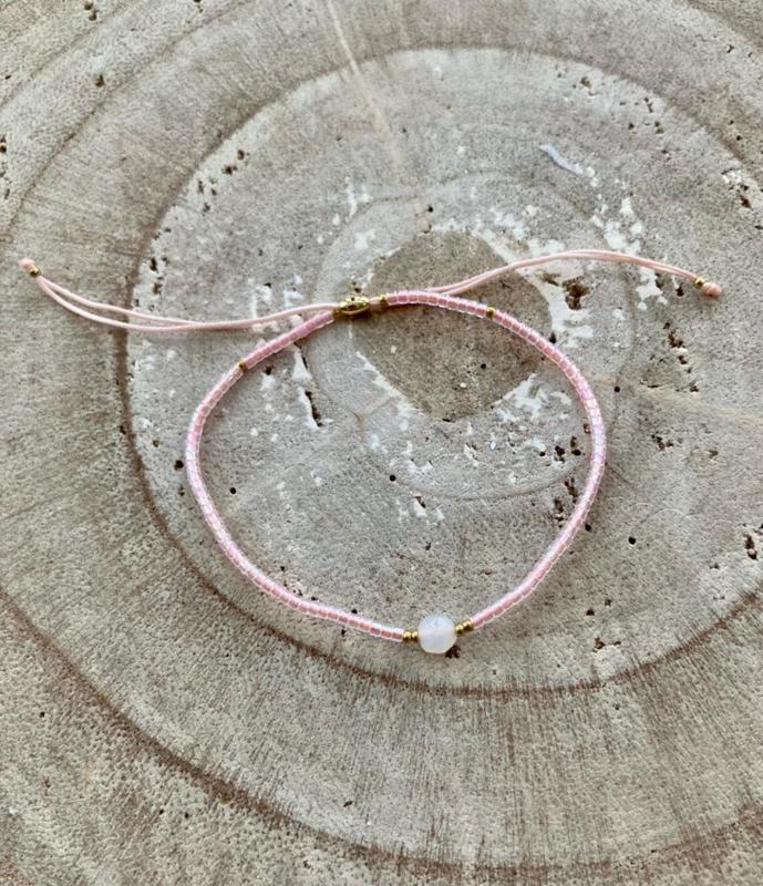 Bracelet roze