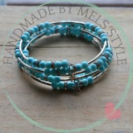 Memory wire armband Leyla