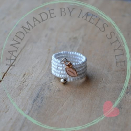 Rocailles Ring memory wire