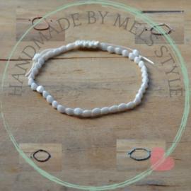 Armbanden met czech pinch beads
