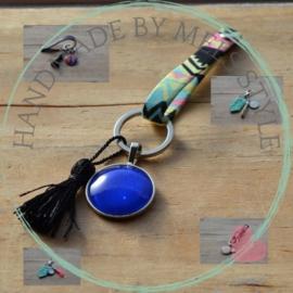 Sleutelhangers & tassenhangers met glas cabochon kopen