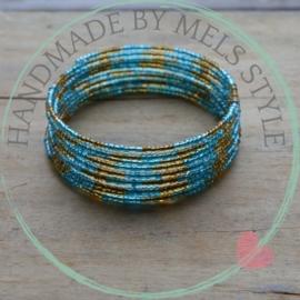 Memory wire armband Toska