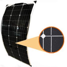 80W ETFE flexibel zonnepaneel