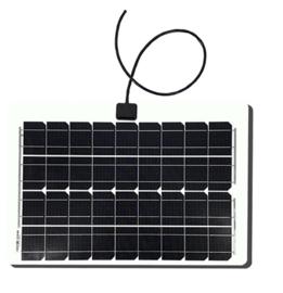 30W semi-flexibel zonnepaneel