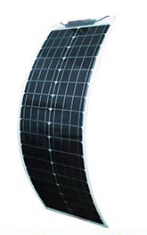 80W semi-flexibel zonnepaneel