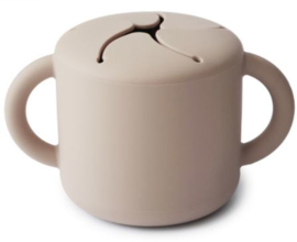 Snack Cup Mushie Shifting Sand