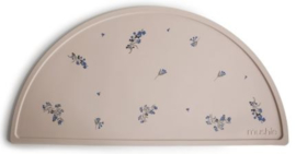 Siliconen placemat Mushie Lilac Flowers