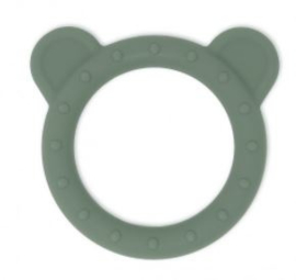 Mushie Teether Bear (dried thyme)