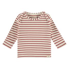Longsleeve Babyface (stripes) Roest