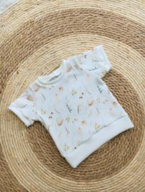 T- shirt zomer rib boho
