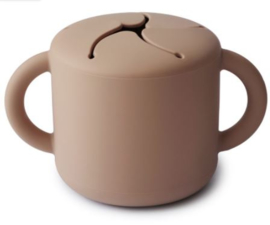 Snack Cup Mushie Natural
