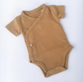 Romper Baby's Only korte mouwen CARAMEL (rib)