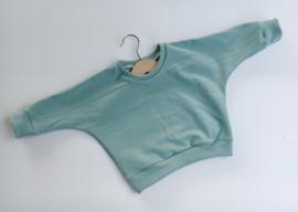 Sweater mint (effen)