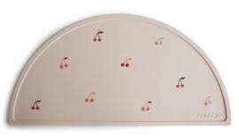 Siliconen placemat Mushie Cherries