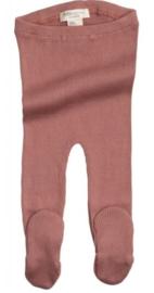 Broekje met voetjes Minimalisma Antique Red