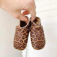 Babyslofjes Baby Dutch luipaard