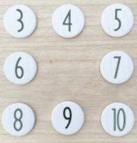 Cijferbutton (nieuwe collectie)