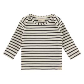 Longsleeve Babyface (stripes) Antraciet