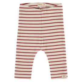 Broekje Babyface (stripes) Roest