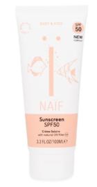 Naïf Baby & Kids natuurlijke zonnebrandcrème SPF50