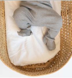 Broekje met voetjes Minimalisma Grey Melange