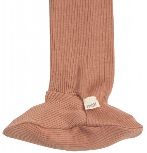 Broekje met voetjes Minimalisma Tan