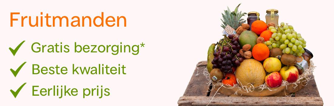 Fruitmanden en geschenken | Fruithandel van Beek - Vers aan huis bezorgd!