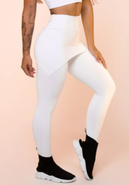 White Legging Pants With Basic Butt Slap