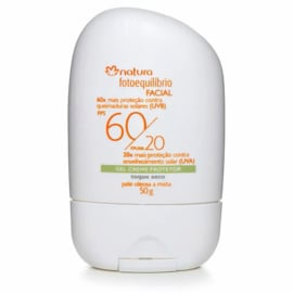 Natura, Gezichtsbeschermende Gel Crème SPF 60/ FPUVA 20