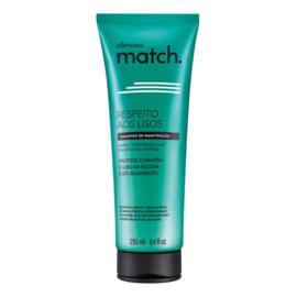 O Boticario, Shampoo Match voor steil haar, 250 ml