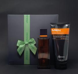 o Boticario , Gift set van Men Only EDT 100 ml en Men Shower Gel 3 in 1