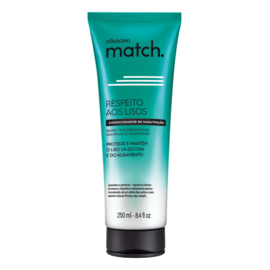 O Boticario , Match Conditioner voor glad en recht haar , 250ml