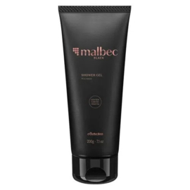 o Boticario, Malbec Black Shower Gel , 200g
