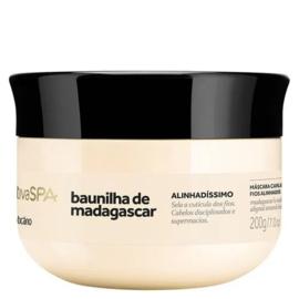O Boticario, native SPA Vanilla De Madagascar Haarmasker voor recht haar, 200G