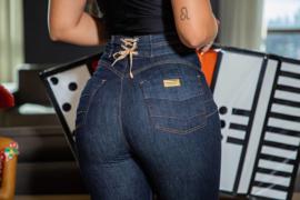 Mamacita , Magische Taille  Modeling  Dark Jeans
