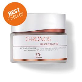 Anti-aging day face cream spf 30 45+ - chronos - 40ml