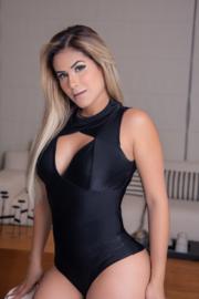 Body Victoria   - Zwart M