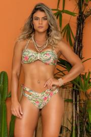 Bikini set  met string broekje  - Maat M -