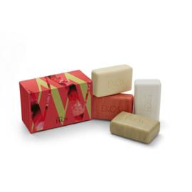 Natura, EKOS CREAMY SOAP SETS - EKOS - 4X100G
