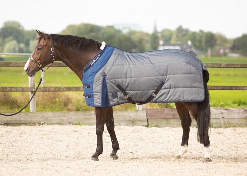 Harry's Horse Staldeken Highliner Blauw/Grijs 300gr