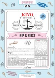 Kip & rijst Pup 15 kg