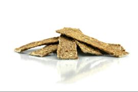 Rund/Vis vleesstrips  200 gram